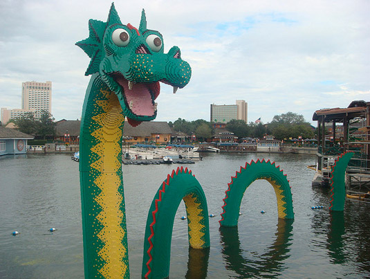 Lego art: sea monster