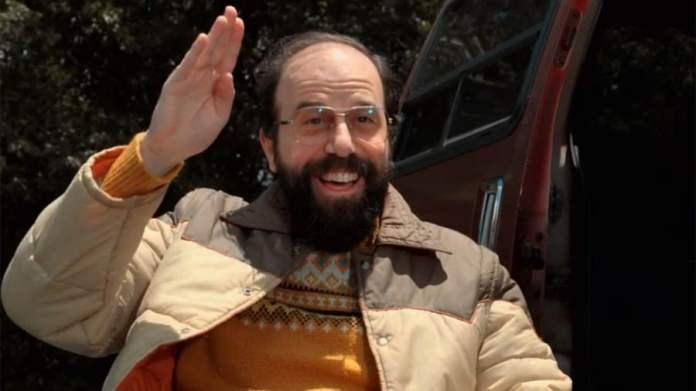 Brett Gelman portraying Murray Bauman in Stranger Things