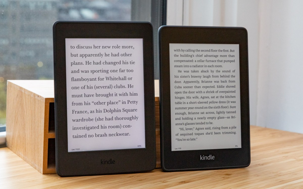 Amazon Kindle Paperwhite (2018) review: vs 2015 model