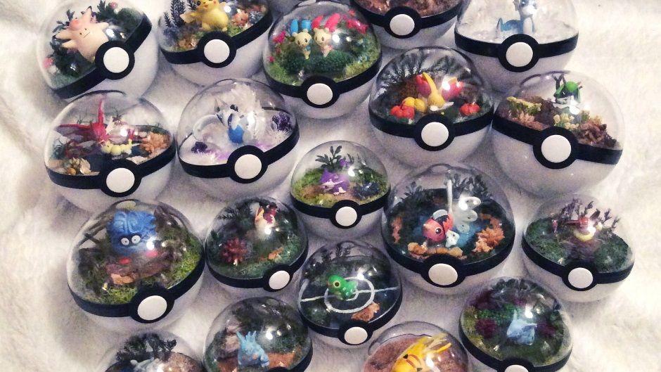 Cute Pokemon Terrariums Show You Whats Actually Going On
