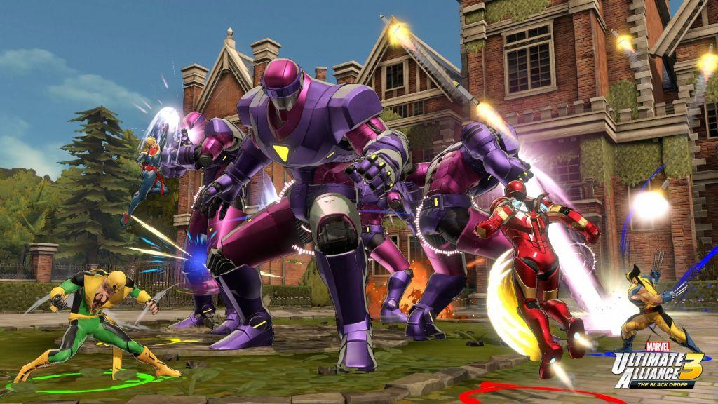 best Nintendo Switch games: marvel ultimate alliance 3