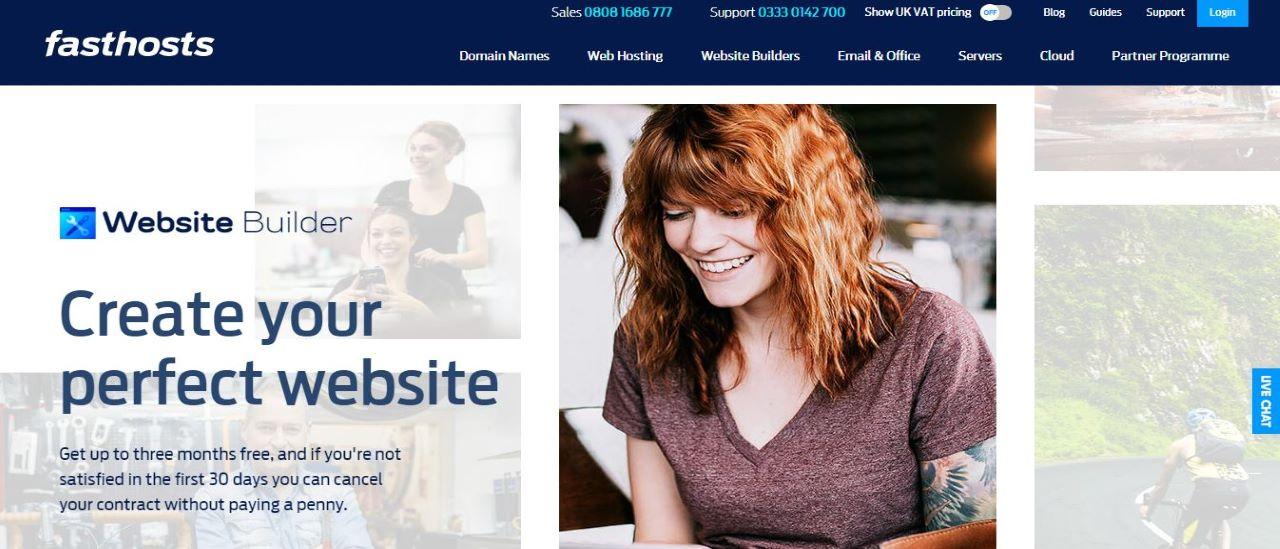 Fasthosts Website Builder