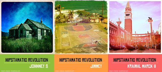 Free Photoshop actions: HipstaRev pack 1