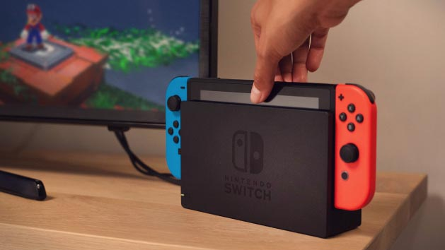 An image of the Nintendo Switch