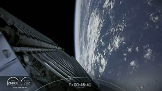 Space.com's first launch of 2020 sent 60 Starlink satellites into orbit on Jan. 6. The company plans to launch 60 more on the Starlink-3 mission this week.