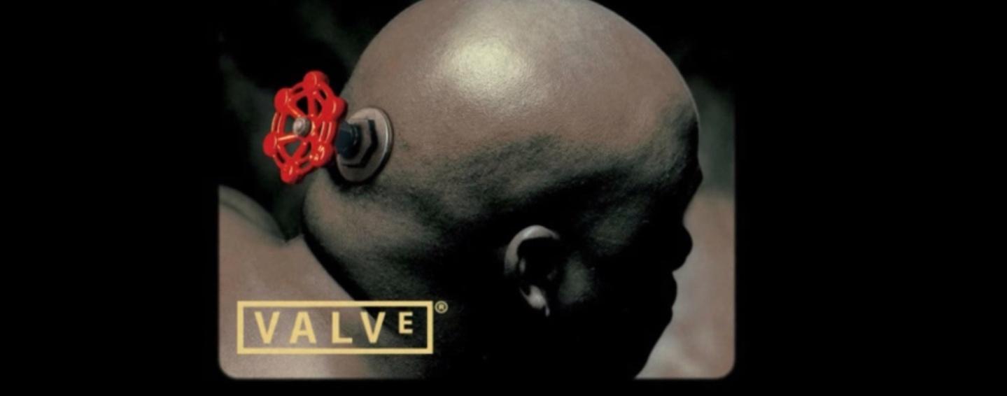 Valve Logo Origins Who Is The Bald Guy Pc Gamer
