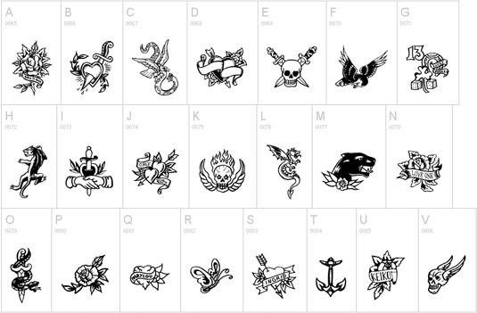 66df773bdc001fad5b1def08758bd42e 51 free tattoo fonts for your body art Random