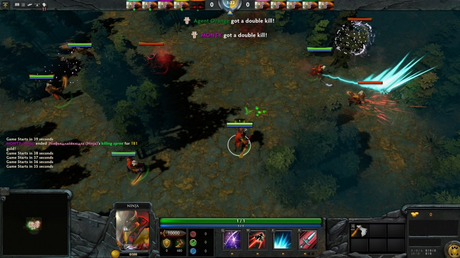 Dota 2 Custom Game of the week  Hardcore Ninja   PC Gamer