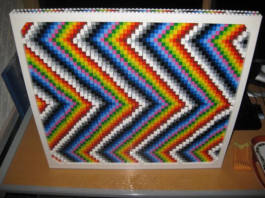 Lego art: frames rainbow