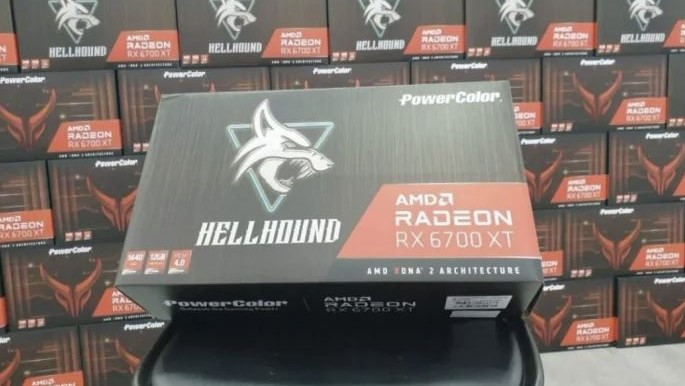 AMD Radeon RX 6700 XT scalpers