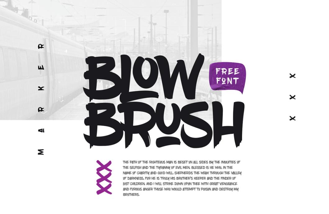 Free fonts: Monthoers