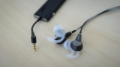 Bose QuietComfort 20i headphones