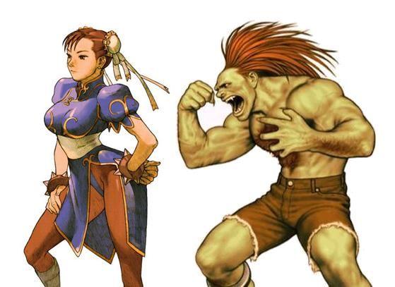 Street Fighter Week The Evolution Of Chun Li And Blanka