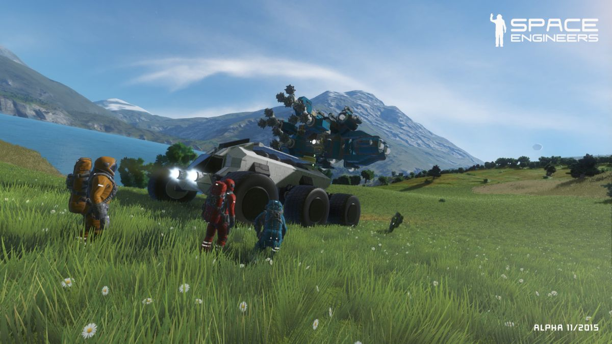 Space Engineers Gets Moddable Destructible Planets PC Gamer