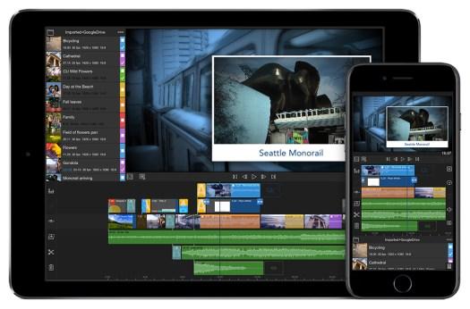 Best video editing apps: LumaFusion interface