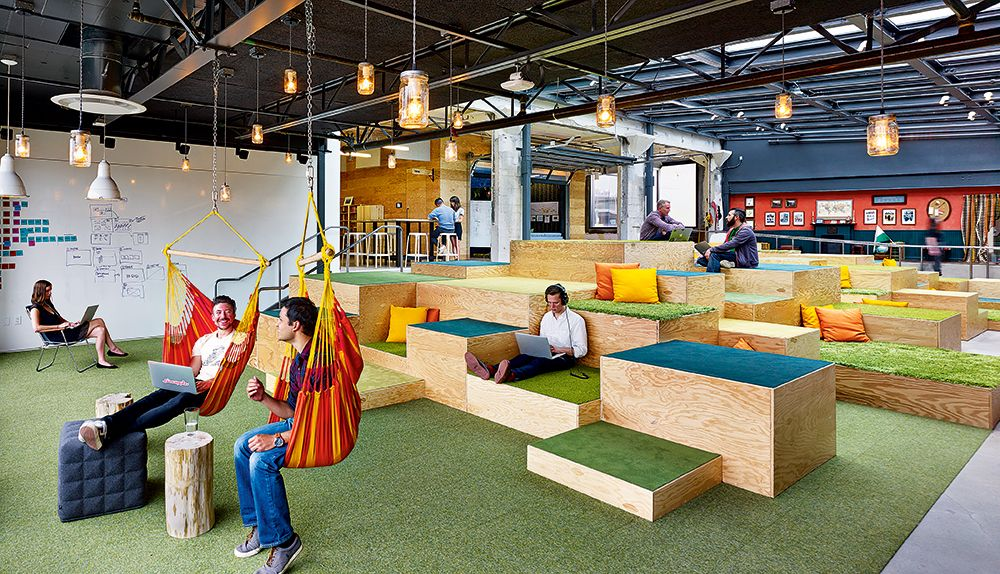 20 super cool design offices to stir
