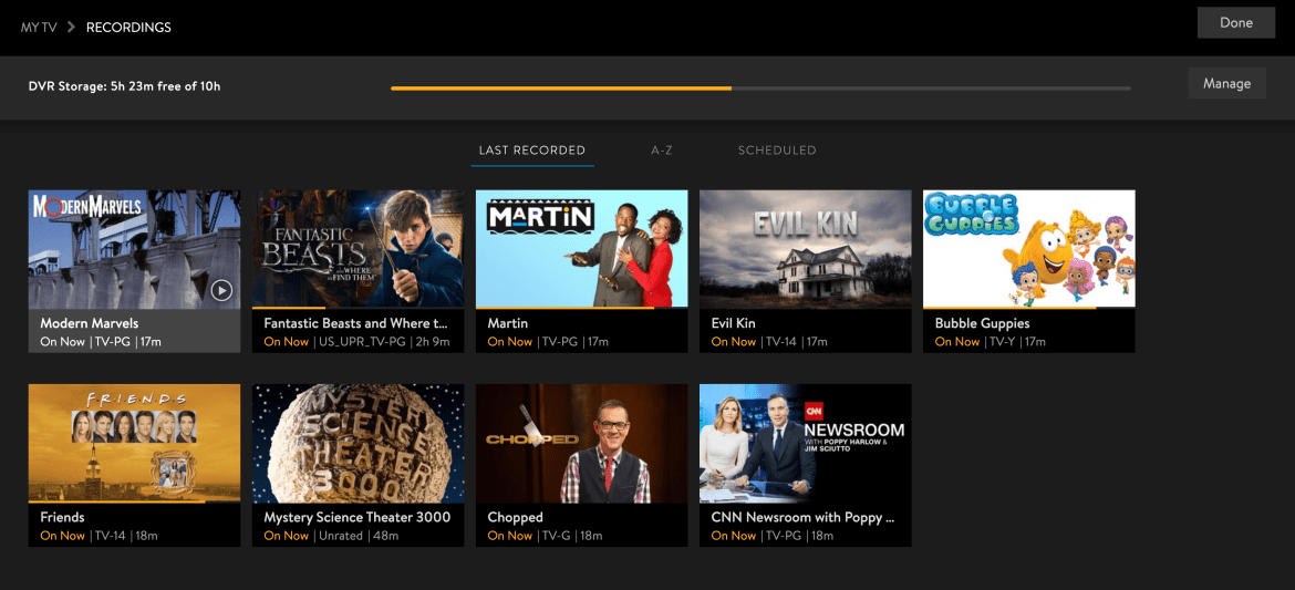 Hulu Live vs YouTube TV vs Sling vs AT&T TV - Sling TV's DVR feature is out of beta.
