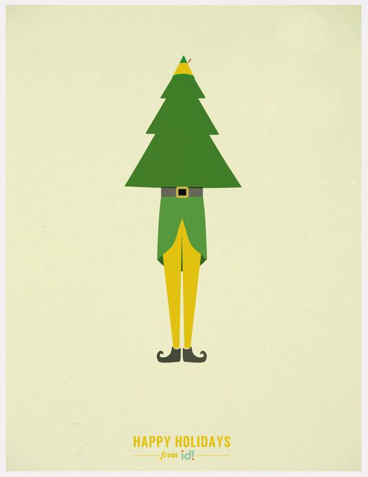 5 Minimalist Christmas Movie Poster Designs Creative Bloq