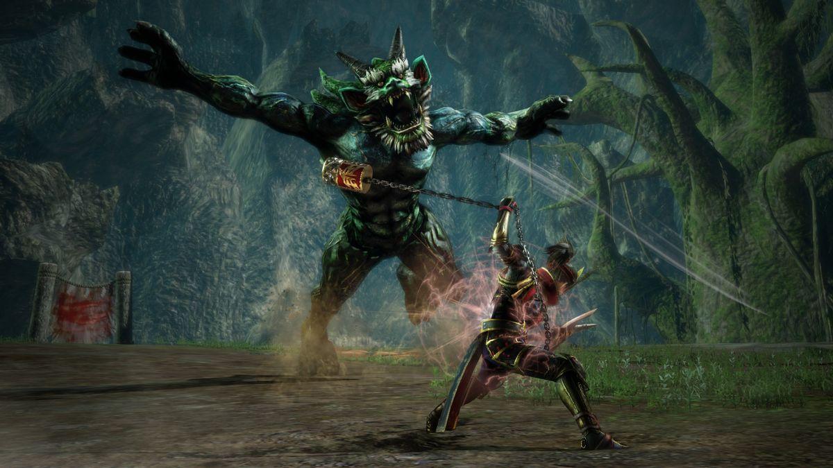 Monster Hunter Clone Toukiden Kiwami Heading To PC PC Gamer
