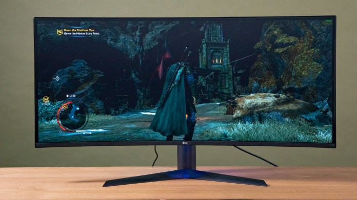 Best gaming monitors: LG 38GL950G