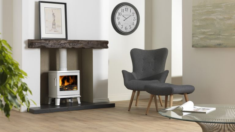 to lay your own tiled fireplace hearth