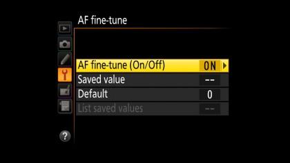 AF fine-tune