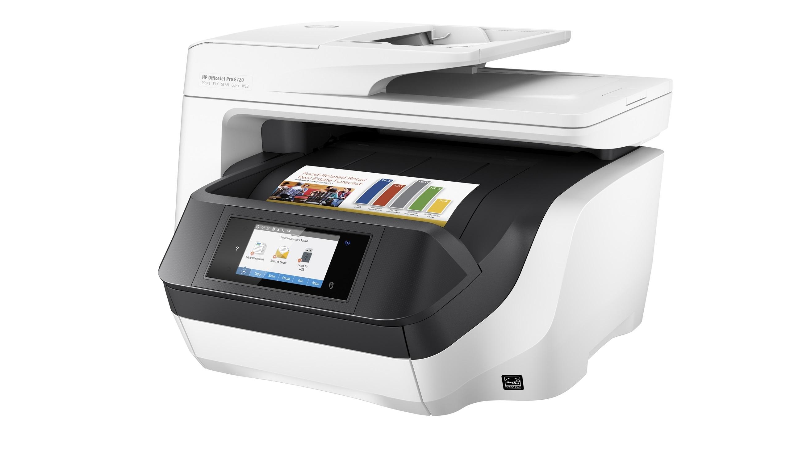 HP OfficeJet Pro 8720 Wireless All-in-One Printer