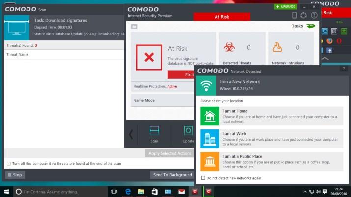 4. Comodo Free Antivirus