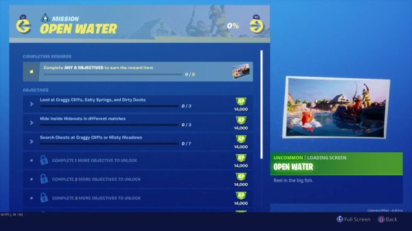 Fortnite Open Water challenges: How to complete the entire Chapter 2 Season 1 Week 2 mission