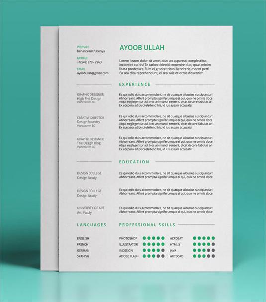 13 free resume templates creative bloq