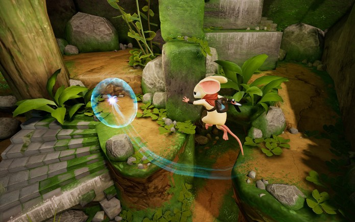 best VR games: Moss