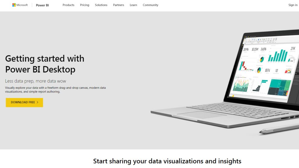 Microsoft Power BI - The software giant provides a free business intelligence tool