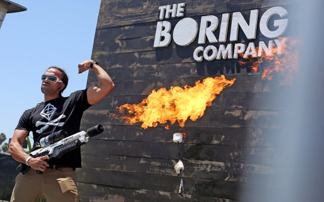 People Are Doing Ridiculous Things with Elon Musk's Flamethrowers | Live Science