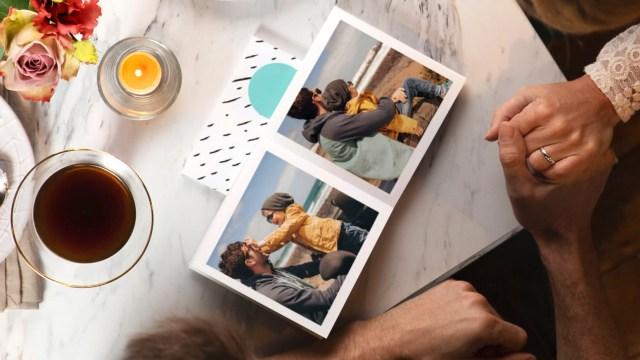 A photobook from PhotoBox