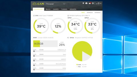How To See Cpu Gpu Temperature And Usage Ingame
