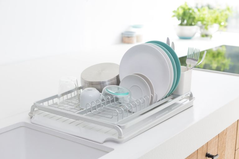 the best dish drainers and racks real