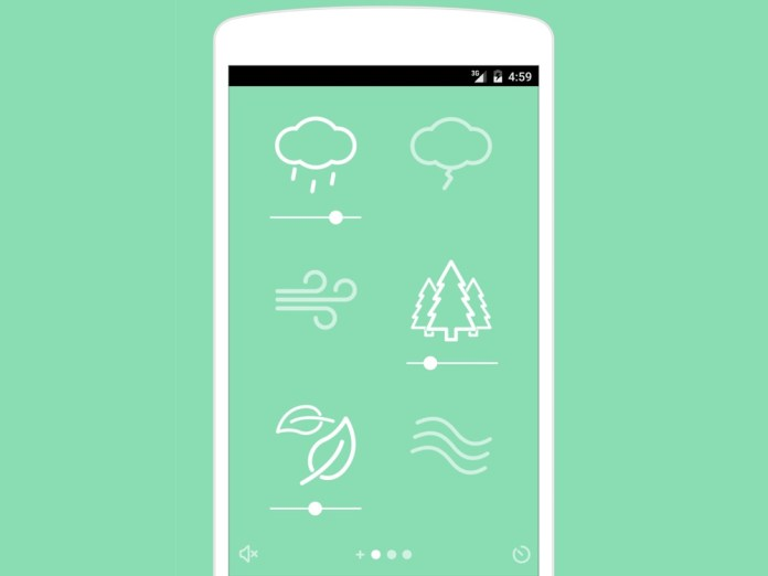 best sleep apps: Noisli