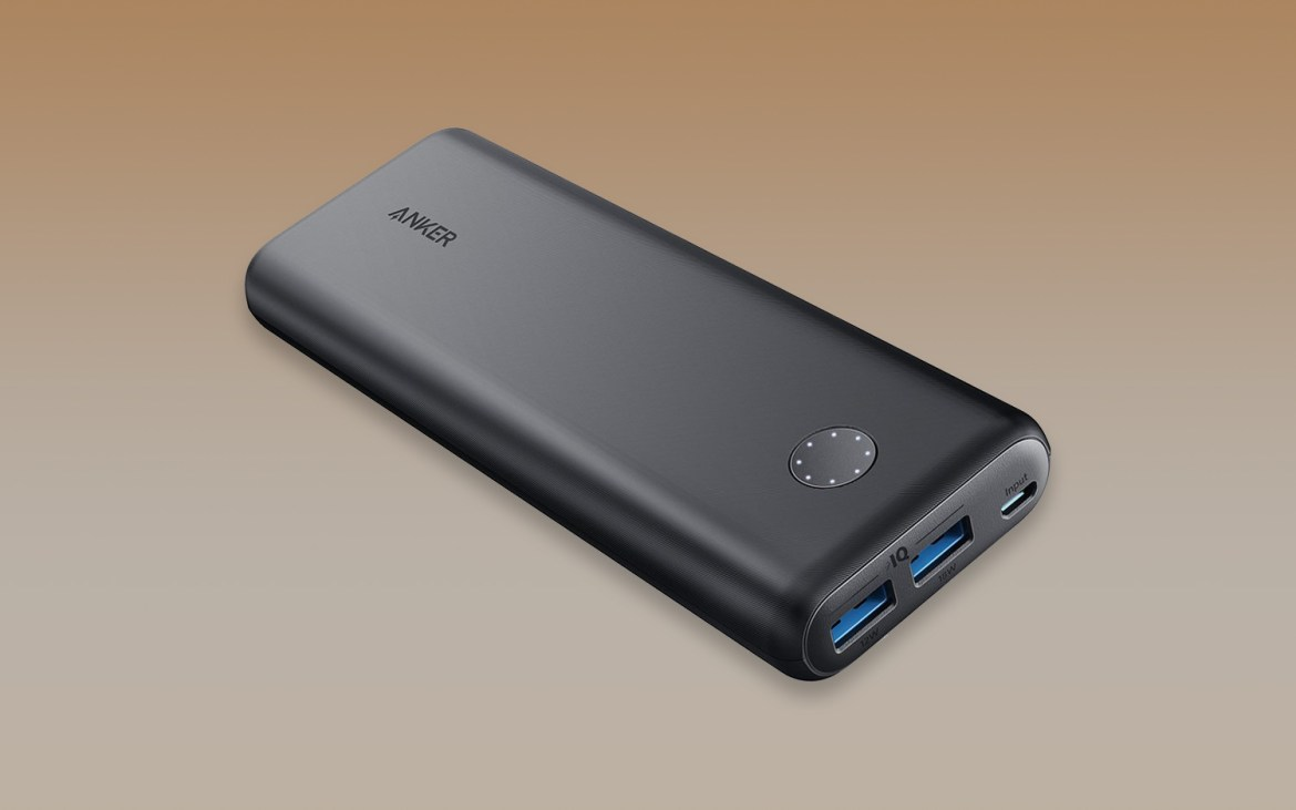 best portable chargers and power banks: Anker PowerCore 20100
