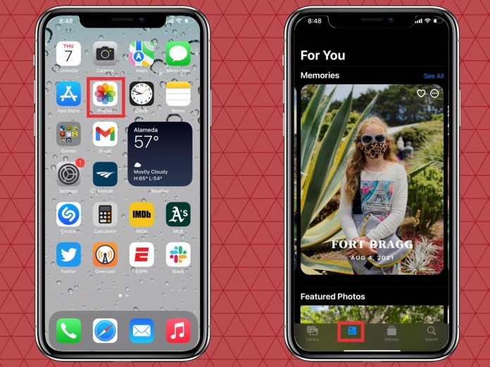 Launch Photos and go to For You tab to edit Memories in iOS 15 Photos