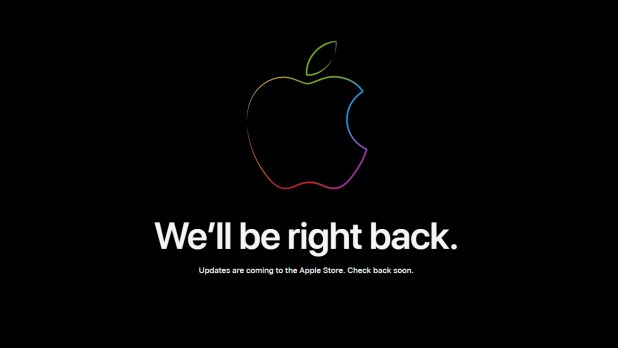 Apple Store is updating