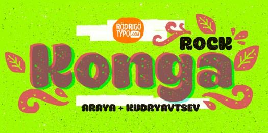 Fun fonts: Konga