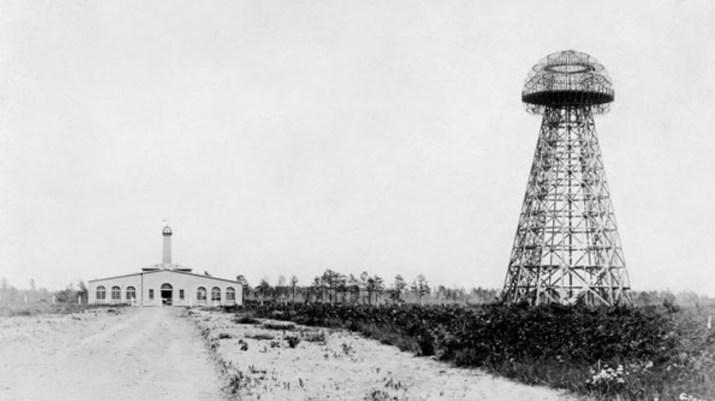 Nikola Tesla's Wardenclyffe Tower transmission station