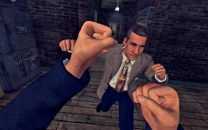 best VR games: LA Noire: The VR Case Files