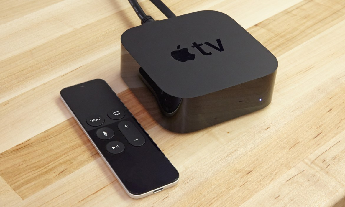 Apple TV and Siri Remote (Photo: Jeremy Lips/Tom's Guide)