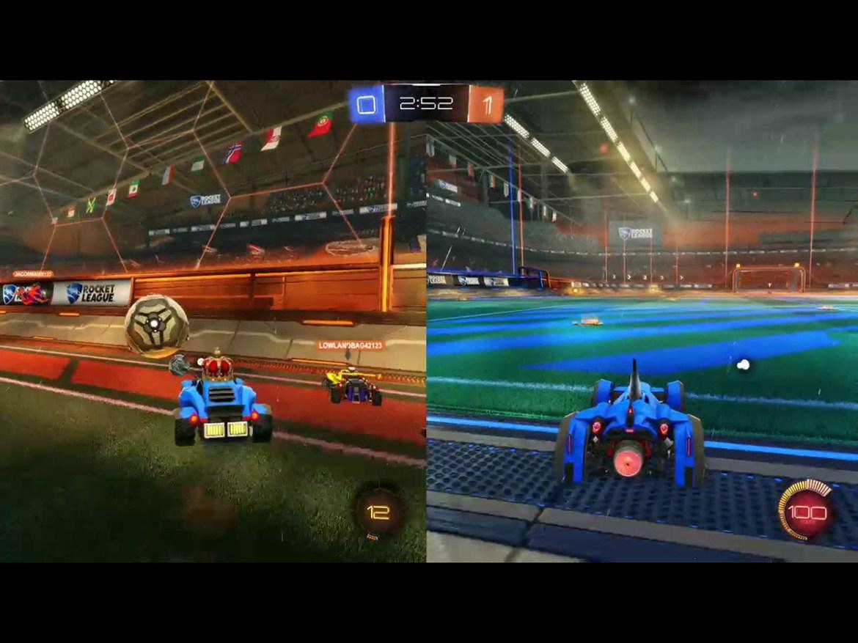 The best split screen PS4 games: rocket league