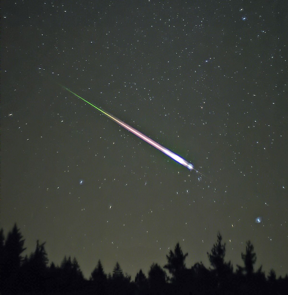 In Earth S Atmosphere Meteors May Explode From The Inside
