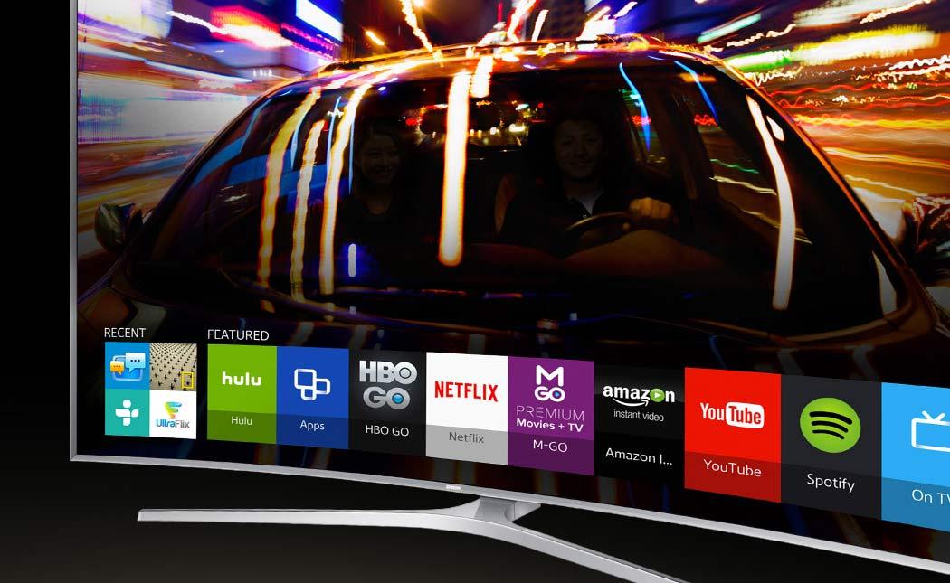 Samsung's Smart TV interface