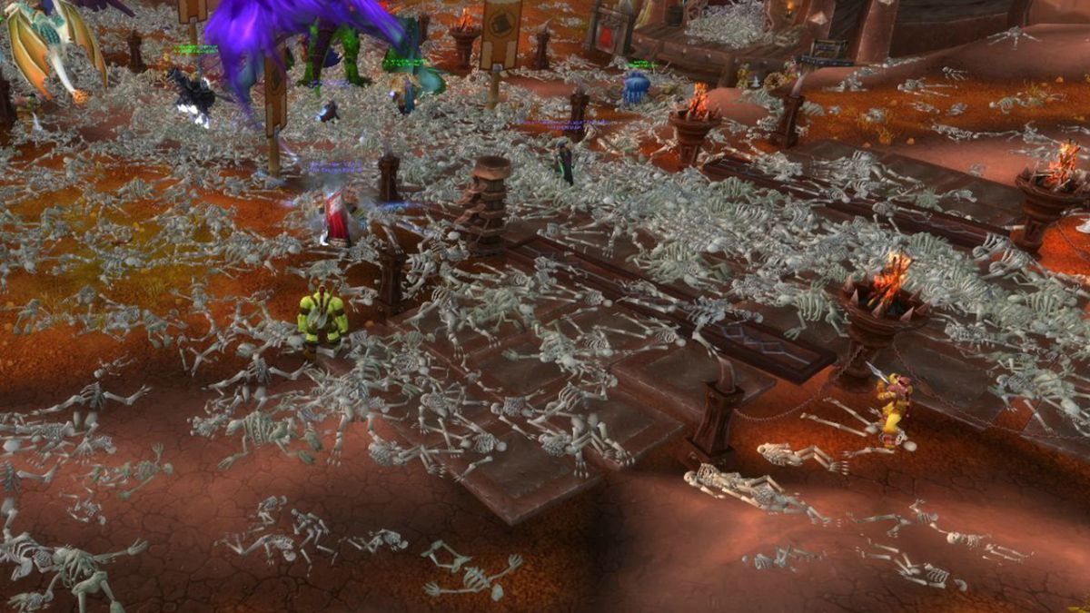 How Blizzard Coped With World Of Warcrafts Blood Plague