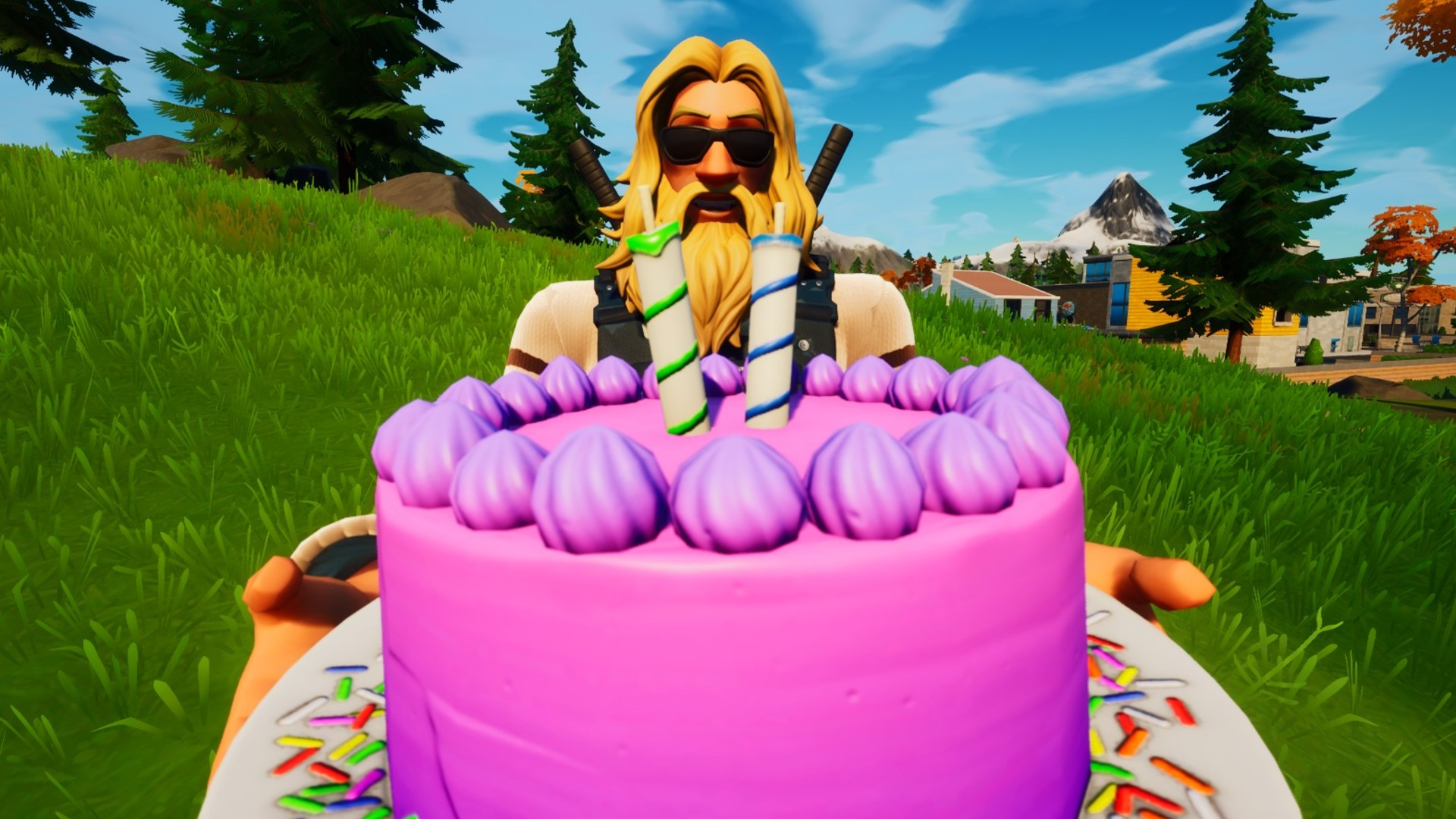 Where To Find Cakes In Fortnite For Birthday Challenges Pc Gamer