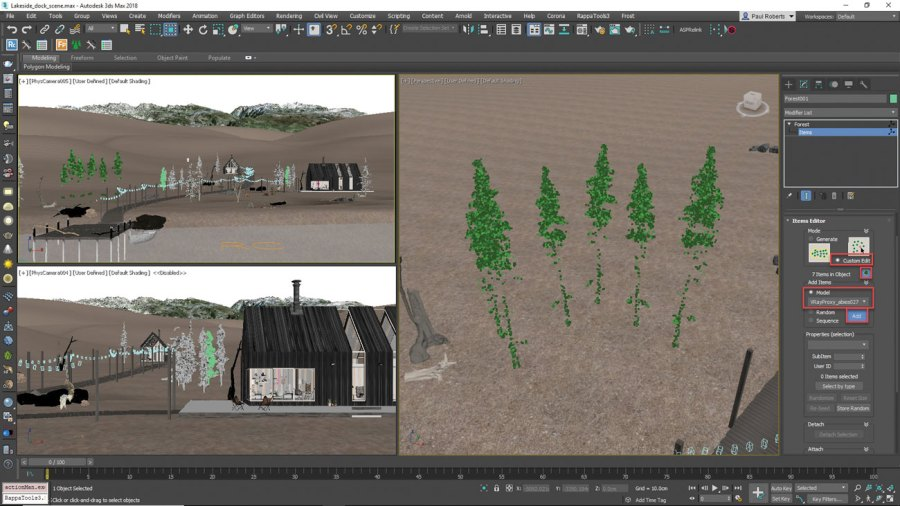 3ds Max - add final objects